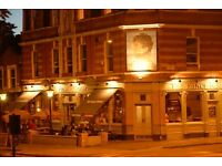 Full Time Assistant Manager and Bar/Floor Supervisor for busy Gastropub in South East London