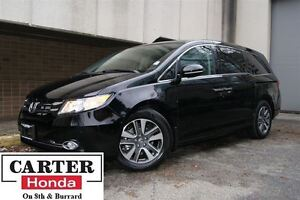 2015 Honda Odyssey Touring + LOW KMS + CERTIFIED 6YRS/120000KMS