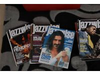 Job lot of 55 Jazzwise Jazz music magazines - now 75