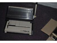 Paper Punch Binding Machine + 2 Boxes Binding Combs
