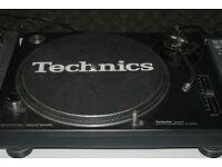 1 Technics 1210 mk2 Direct Drive Turntable