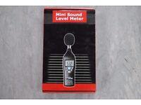Mini Sound Level Meter Brand New Unused £44