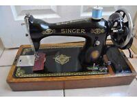 Singer SEMI-Industrial 15K Hand crank Sewing machine