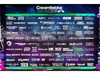 Volunteer at Creamfields Festival - go for free without missing any of the festival!