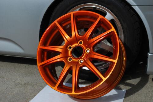 Candy Orange Powder Coating Paint - 1 LB