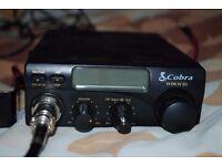 Cobra 19 DX IV EU 12V DC AM/FM CB with Thunderpole Mag Mount and Antenna