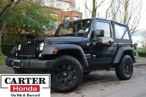 2014 Jeep Wrangler Sport + BLACK RIMS + YEAR-END CLEAROUT!!