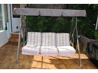 3 seat swinging chair