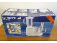"""Kenwood """"Gourmet"""" Electric Food Processor and Accessories."""