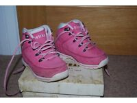 Girls Size 8 (childrens size) Firetrap ankle boots pink