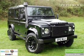 LAND ROVER DEFENDER 110 2.2 TDCi XS UTILITY [170 BHP] 4x4 (black) 2012