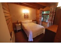 1 BEDROOM FURNISHED LOG CABIN FOR RENT IN CENTRAL BLAIRGOWRIE