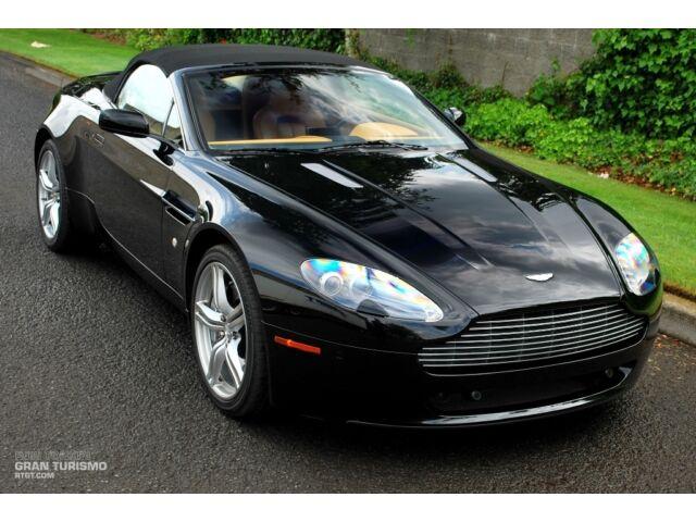 Aston Martin : Vantage V8 Roadster Convertible, Navigation, Parking Sensors, Heated Memory Seats, Xenon HID