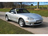 2005 (55) MAZDA MX5 1.8i ICON - FULL MAZDA S/HISTORY, 2 OWNERS