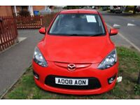 MAZDA 2 SPORT 1.5 PETROL 2008 MOT S/H OWNER RETIRED FROM DRIVING £1495 ono