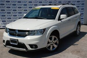 2012 Dodge Journey R/T*Moon Roof*Leather*AWD*