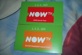 Now TV 4 Months Kids Pass. Genuine.