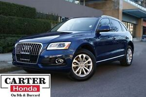 2015 Audi Q5 2.0T Progressiv + NAVI + LEATHER + BACKUP CAM!