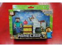 Minecraft Series #2 Steve and Horse Brand New Original Packaging £9.99