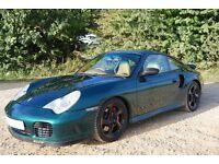 Porsche 911 (996) Turbo manual (2000)