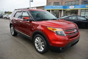 2013 Ford Explorer LTD/4X4/AWD/PANORAMIC ROOF/LEATHER/NAV
