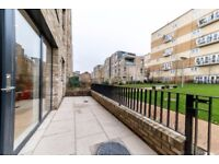 *1 bedroom ground floor flat with private patio and access to GARDEN minutes to Kilburn Park Station