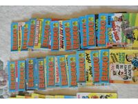 20 beano 16 dandy 1 whizzer & chips comic library