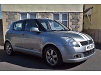 2005 Suzuki Swift 1.5 VVTI GLX Sport 5dr Hatch With Rare Factory Extras