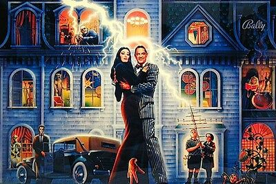 Addams Family Complete LED Lighting Kit custom SUPER BRIGHT PINBALL LED KIT
