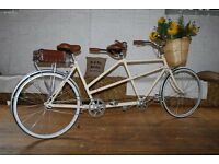 Vintage Tandem For Hire - Ideal For Weddings