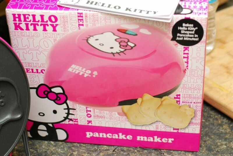 Hello Kitty Pancake Maker - Excellent Condition Pink (APP-61209)