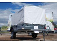 Box trailer 6x4 single axle 750kg