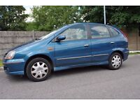 Nissan Almera Tino Petrol 1.8 (Exhaust Needs to be replaced).