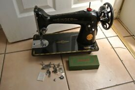 Singer Semi-Industrial Model 201K machine with ATTACHMENTS