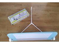 Lindam Soft Folding Bedrail (Blue)