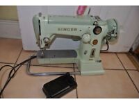 Singer 320K Cylinder Arm FREEHAND EMBROIDERY Semi Industrial Heavy MULTI STITCH CAMS Machine