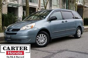 2005 Toyota Sienna CE 7 Passenger + LOCAL + ONE OWNER + 2 SETS O