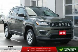 2018 Jeep Compass | Sport | 4x4 | MANUAL |