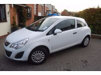 2012/62 VAUXHALL CORSA 1.0 S ECOFLEX 3 DOOR IN WHITE.LOW MILES