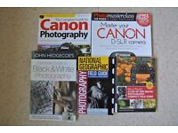Assorted Photography books in very good condition