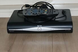 Sky plus hd box with remote plus hdmi cable