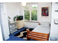 Charming, sunny and cosy room available in a lovely maisonette in Stephendale Road Fulham SW6
