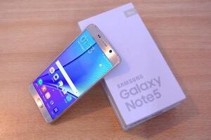 Samsung Note 5 32GB Unlocked GOLD/BLACK  @439.99 LNIB