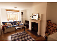 Lrg Double room. Beautiful garden flat with Private Bathroom - Couples/Pets welcome