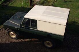 Land Rover Series 3 Diesel.