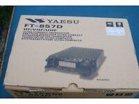 Yaesu FT-857D HF/VHF/UHF Ultra-compact transciver