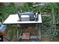Singer Model 96K Industrial Sewing Machine SEE 2 LAYERS OF LEATHER SEWN