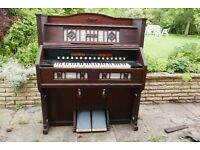 Harmonium - works well but woodworm