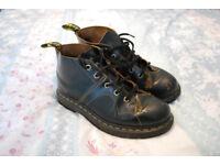 DR. MARTENS Church Boots (Black) – Size 5