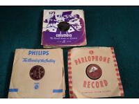 A quantity of 78 rpm records